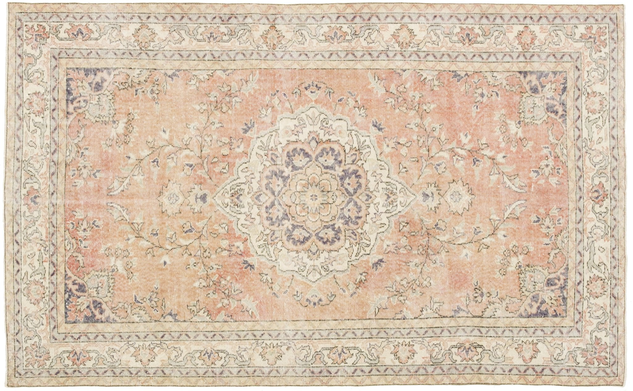 Vintage Persian Style Rug Galymzhan