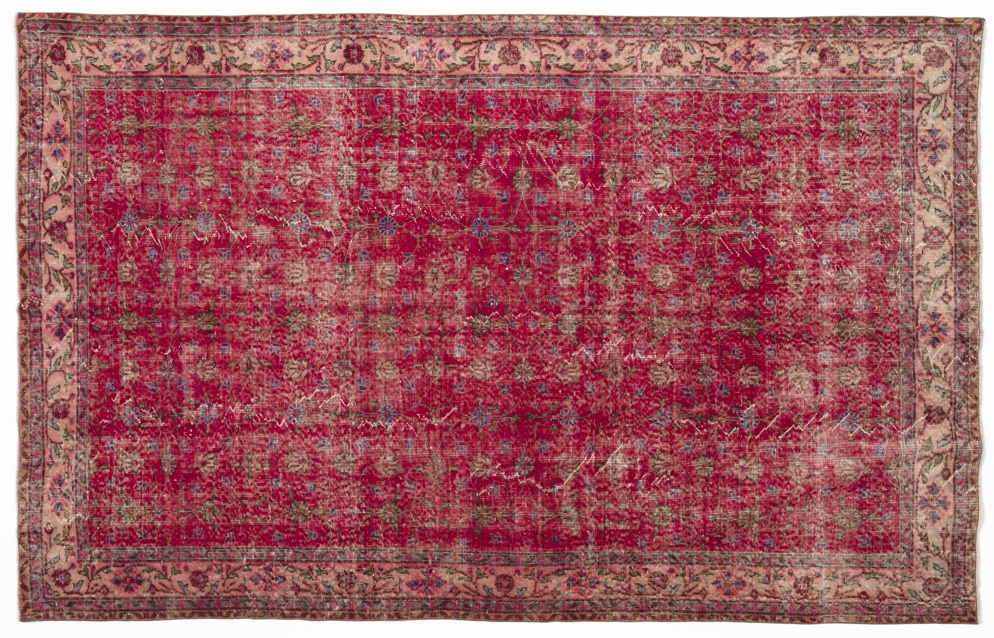 Vintage Turkish Rug Berthilde