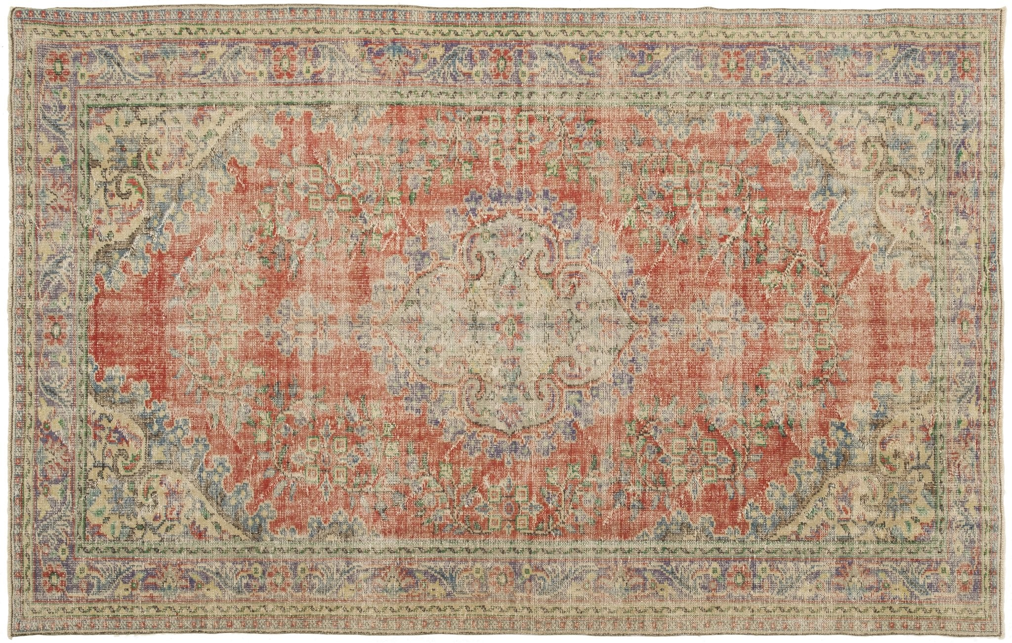 Vintage Persian Style Rug Iftach