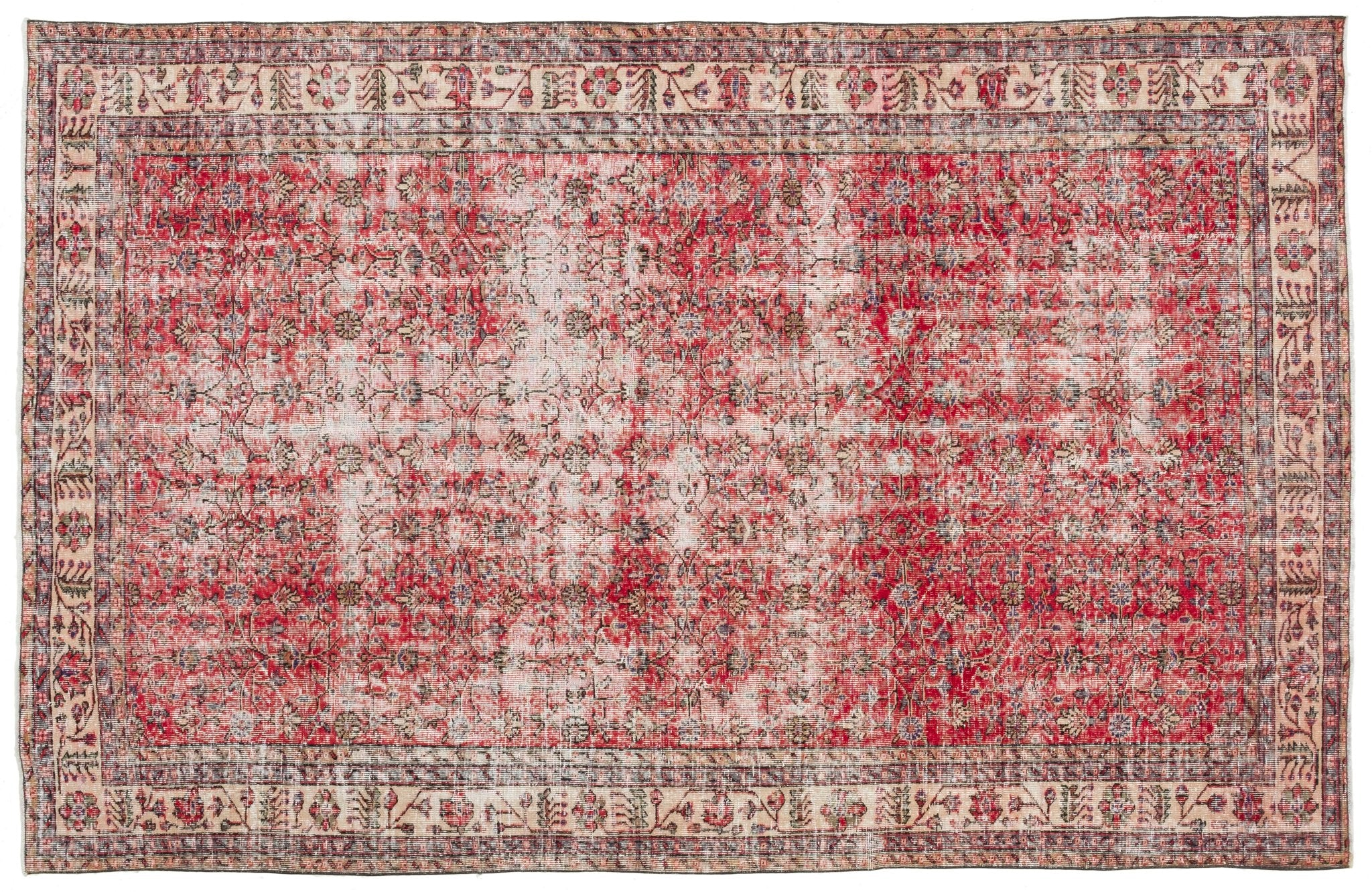 Vintage Turkish Rug Shabbir