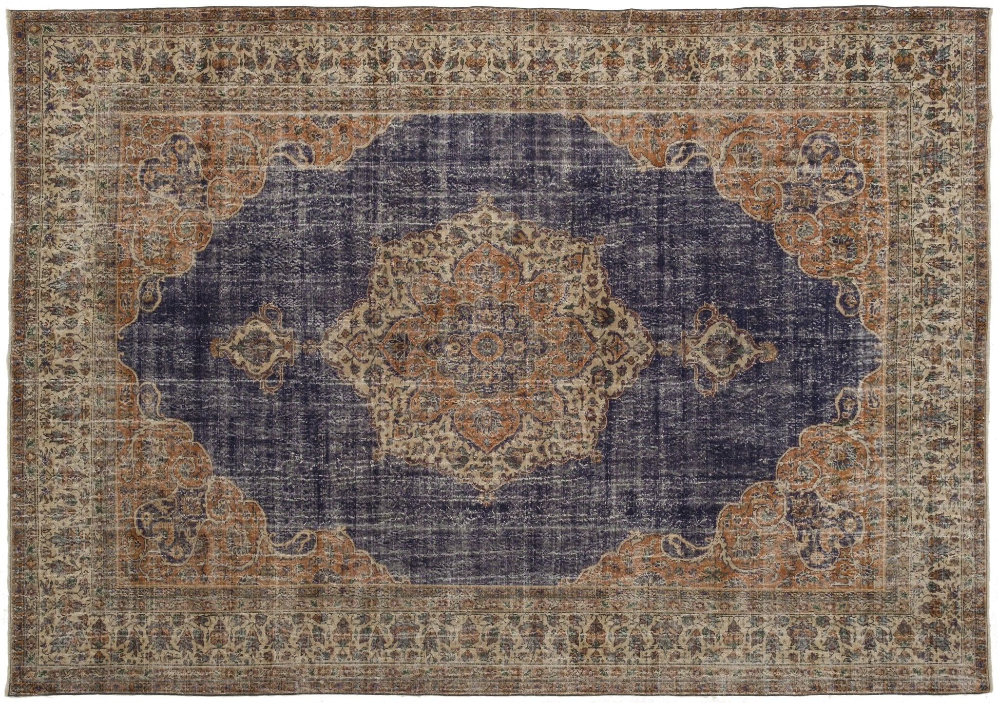 Vintage Persian Style Rug Tera