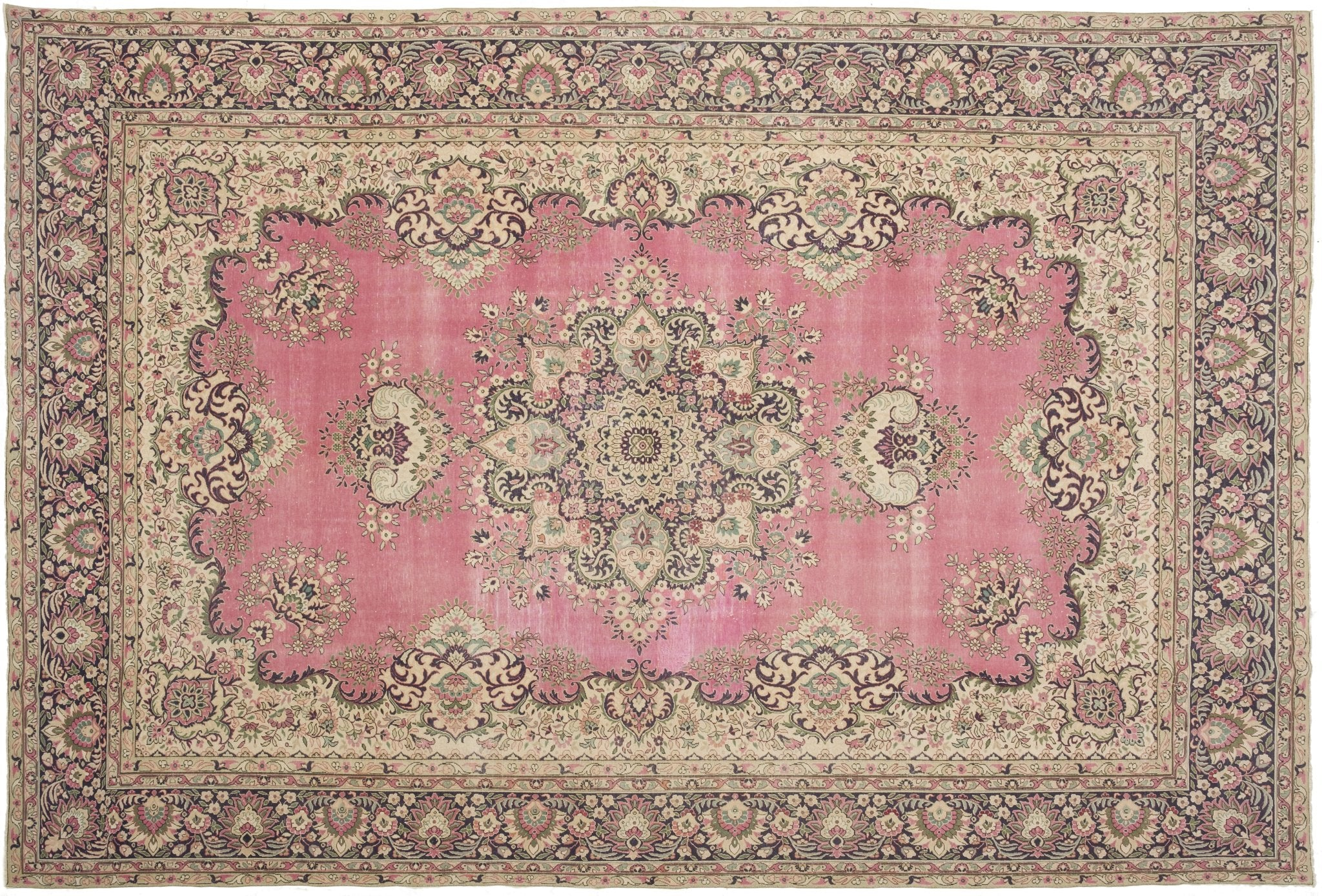 Vintage Persian Style Rug Tere