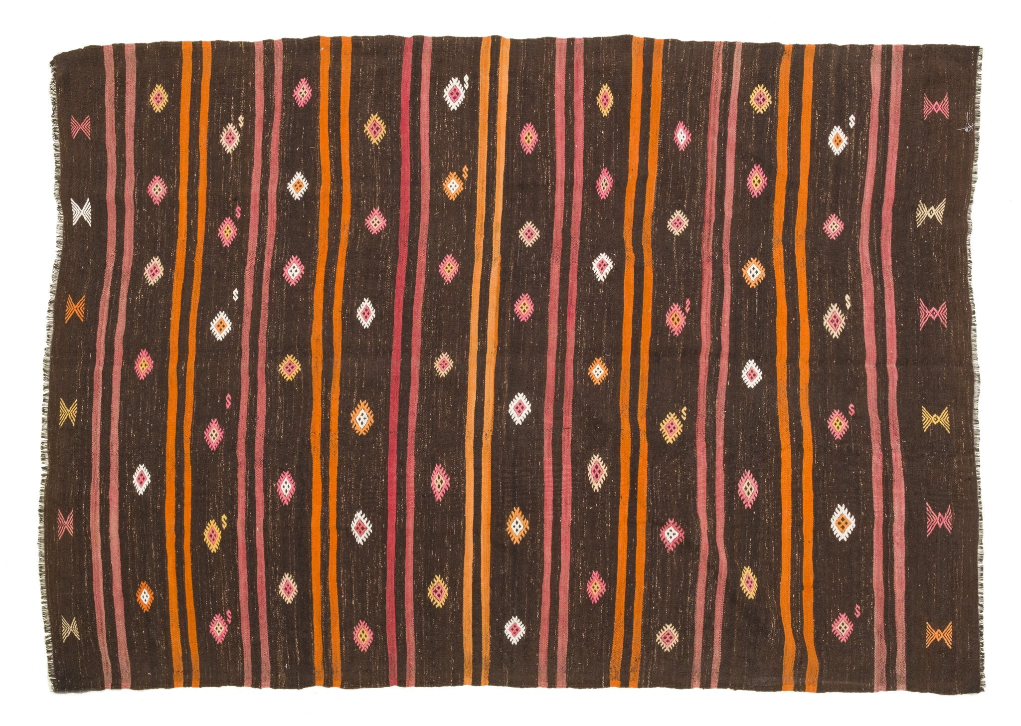 Vintage Tribal Kilim Rug Aatos