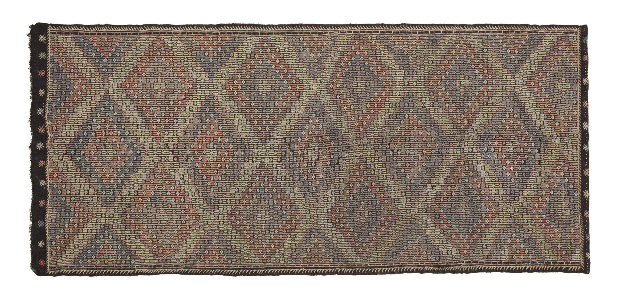Vintage Tribal Kilim Rug Clair
