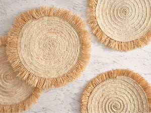 Handwoven Palm Placemats thumbnail