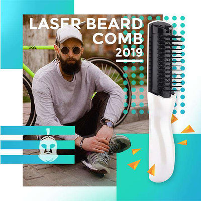 BeardedKnight™ Laser Comb