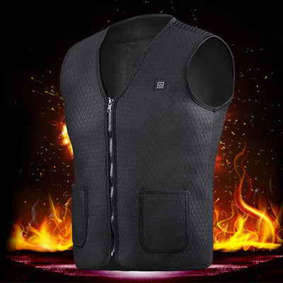 ProtactMax™ Waterproof Lightweight Bike USB Heated Vest