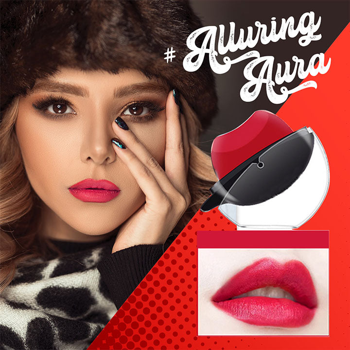 AlluringAura™ Rouge Lasting Easy On Lipstick