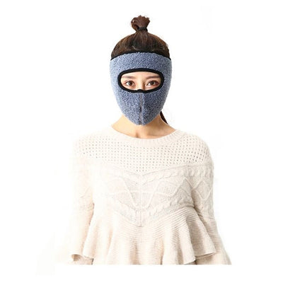 ComfyWarm™ 2 In 1 Fleece Mask