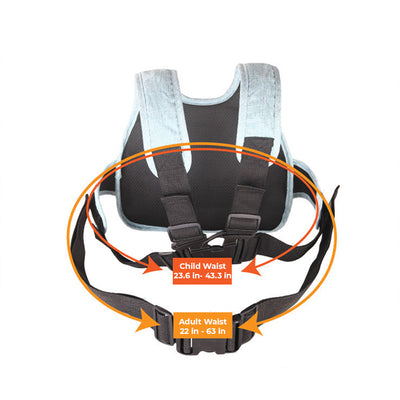 HabbyKids™ Child Motorcycle Safety Harness 4-In-1 Buckle