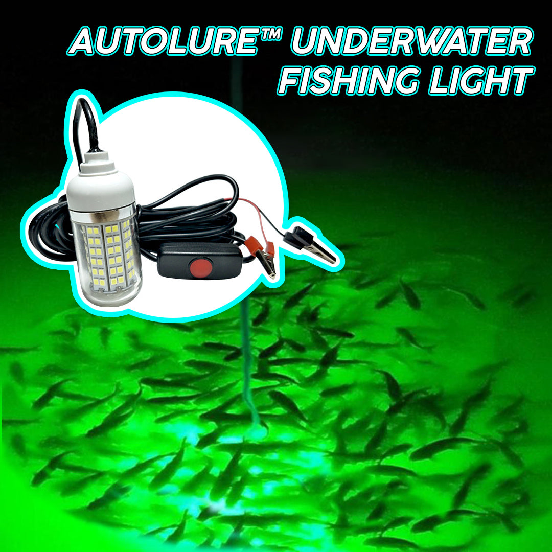 AutoLure™ Underwater Fishing Light
