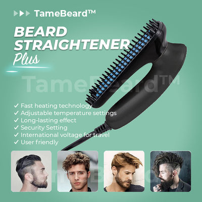 TameBeard™ Straightening Comb PLUS!