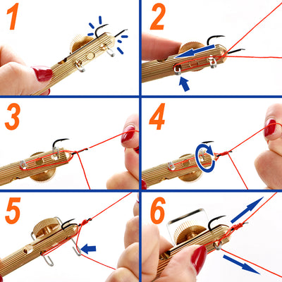 Easy Fishing Knot Tying Tool