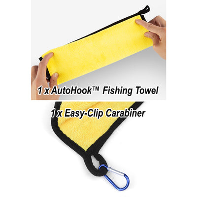 AutoHook™ Fishing Towel