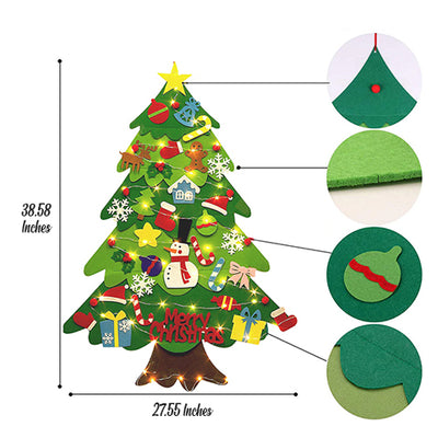 Kids Felt Christmas Tree 2020