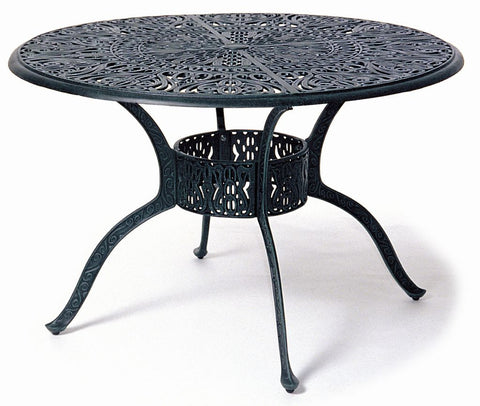 "Tuscany 48"" cast aluminum Dining Table"