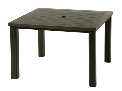 Sherwood Square aluminum Dining Table