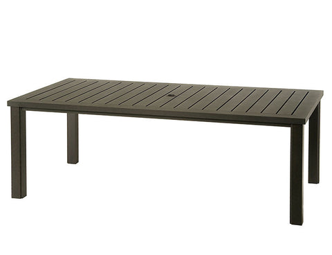 "Sherwood aluminum 84"" dining Table"
