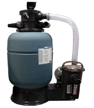 "Sand Filter 19"" system with 1.5HP pump"