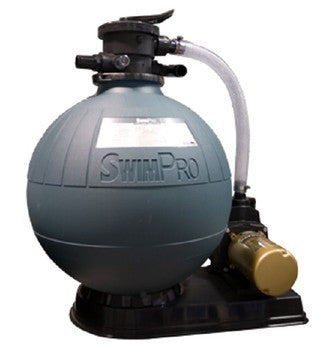 "Sand Filter 23"" system with 1.5HP pump"
