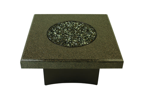"Cafe Imperial Granite 40"" Square Outdoor Fire Pit"