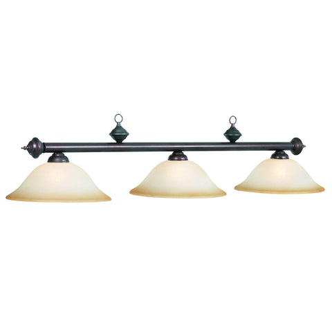 Billiard light 3 lshade RG360 ORB