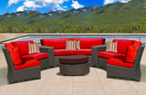 wicker sectional, outdoor wicker sectional, wicker furniture for sale