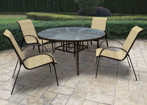 outdoor dining sets, outdoor tables, outdoor sling chairs, patio furniture for sale, shop outdoor furniture