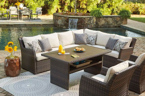 foster furniture, outdoor furniture for sale, shop furniture, deals on outdoor sectionals, wicker furniture