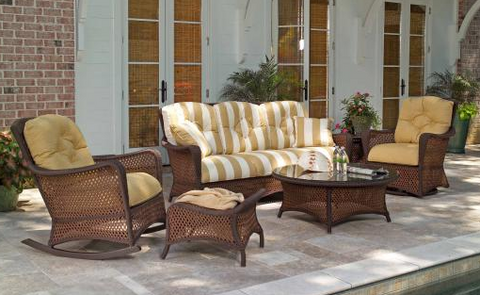Grand Traverse Outdoor Wicker Seating