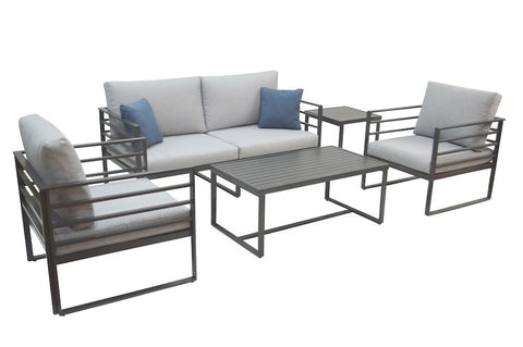 holt outdoor furniture set, outdoor sofas, outdoor loveseats, outdoor tables, shop deals on furniture, outdoor furniture for sale, plank and hide