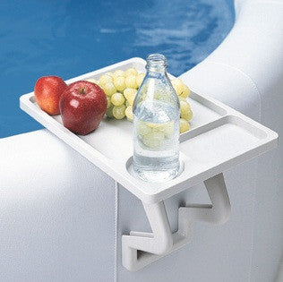 aqua tray spa side table