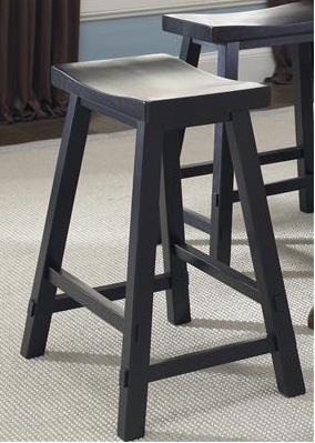 Sawhorse Counter Stool