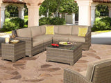 shop monterey 5 piece sectional, deals on outdoor sectionals, sectionals for sale, wicker sectionals, patio furniture