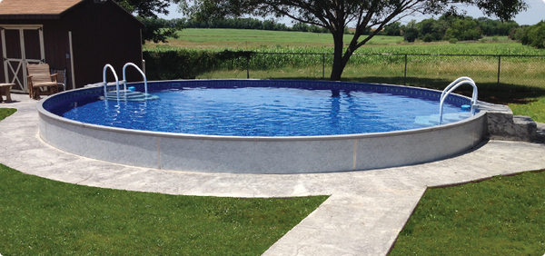 Radiant above ground pools swimming pools radiant - Largest above ground swimming pool ...