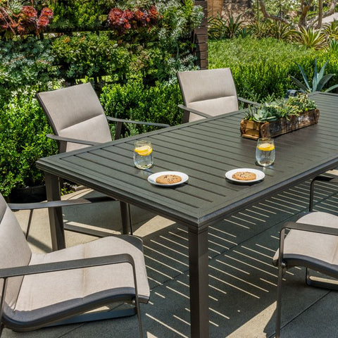 tropitone dining tables, tropitone furniture, outdoor furniture for sale, shop outdoor chairs, deals on tables