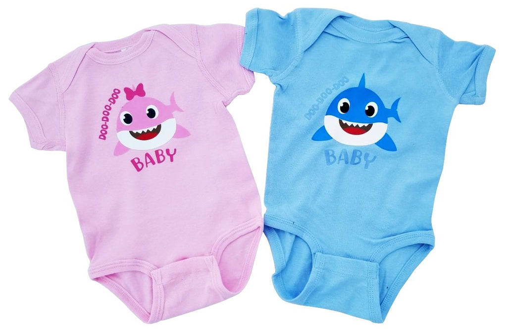 Boy Girl Twin Brother Sister Baby Sharks