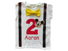 Boys 2nd Birthday Shirt Mickey Mouse - Yellow Bow Tie