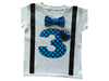 Boys 3rd Birthday Shirt Cookie Monster Tee