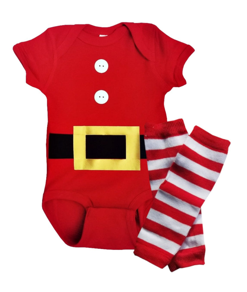 Christmas Brother Sister Baby Boy Girl Twin Mr. and Mrs. Claus Outfits