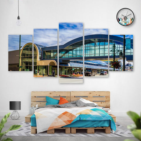 Wall Canvas - Anchorage  5 Piece Canvas