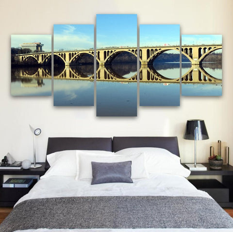 Wall Canvas - Arlington 5 Piece Canvas