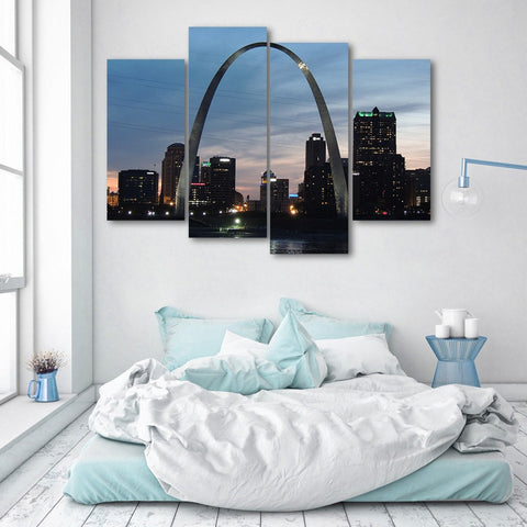 Wall Canvas - St Louis 4 Piece Canvas