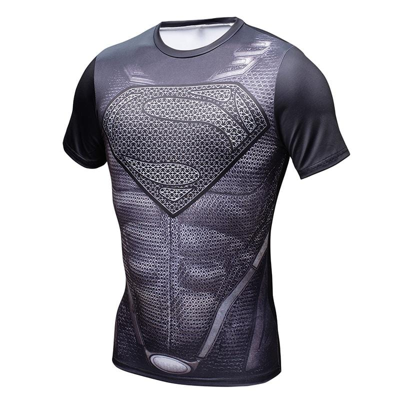 New Fitness Compression Shirt, Mens, Superheroes, Clothing - TheMarketHood