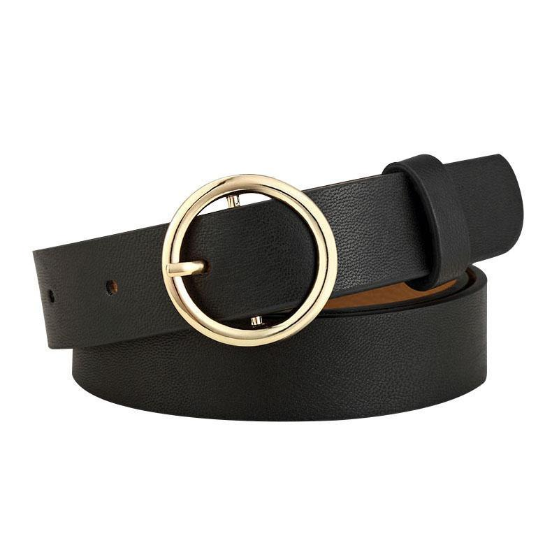 New Round Circle Belt for Womens