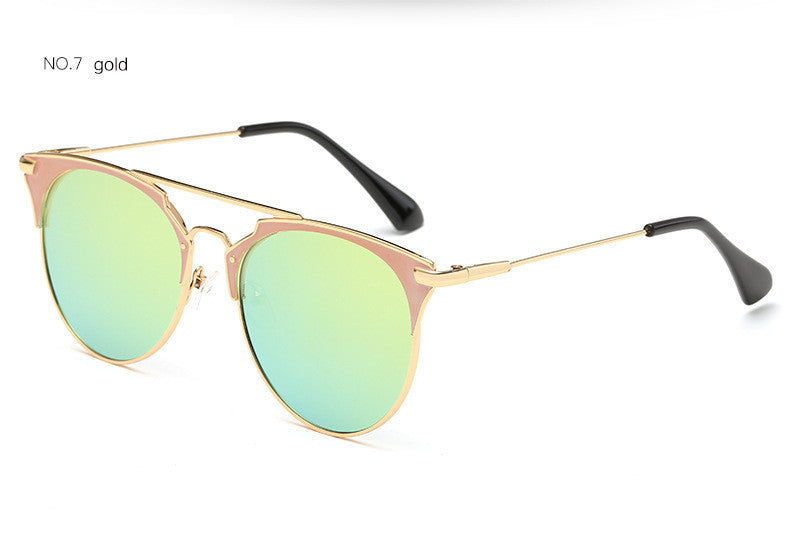 a042a5de13b New Luxury Vintage Round Sunglasses for Womens – TheMarketHood