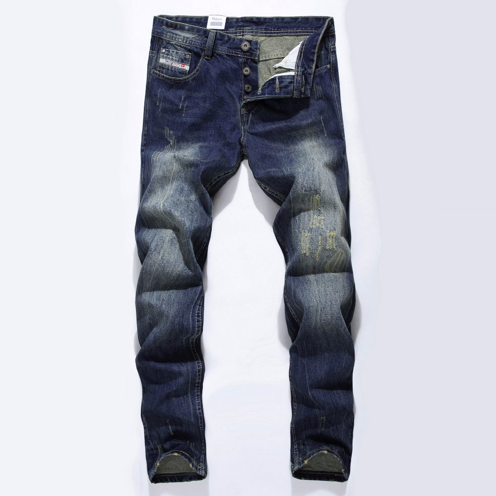 Fashion Ripped Jeans for Mens, Clothing - TheMarketHood