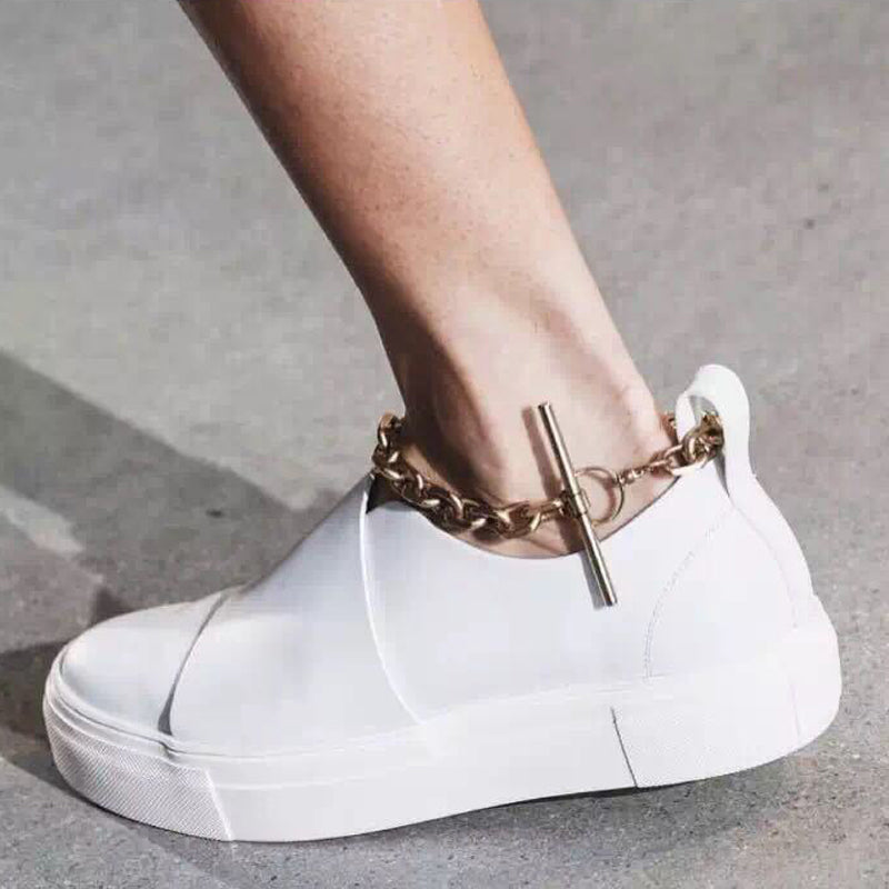 Super Chic Sneakers Shoes, Platform for Womens, Clothing - TheMarketHood