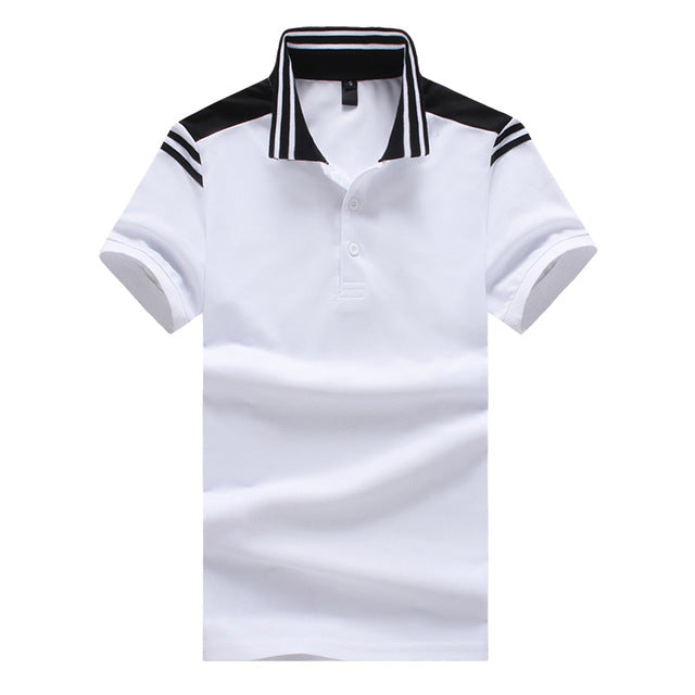 Original Fashion Polo for Mens, Black and White, Clothing - TheMarketHood