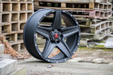 "20"" Apache Matt Black"